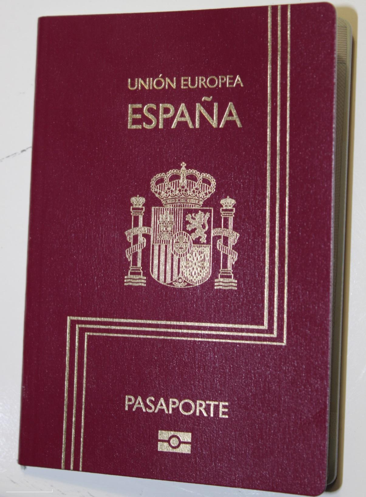 Tamano fotografia pasaporte espanol